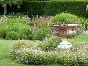 Hedge Flower Garden